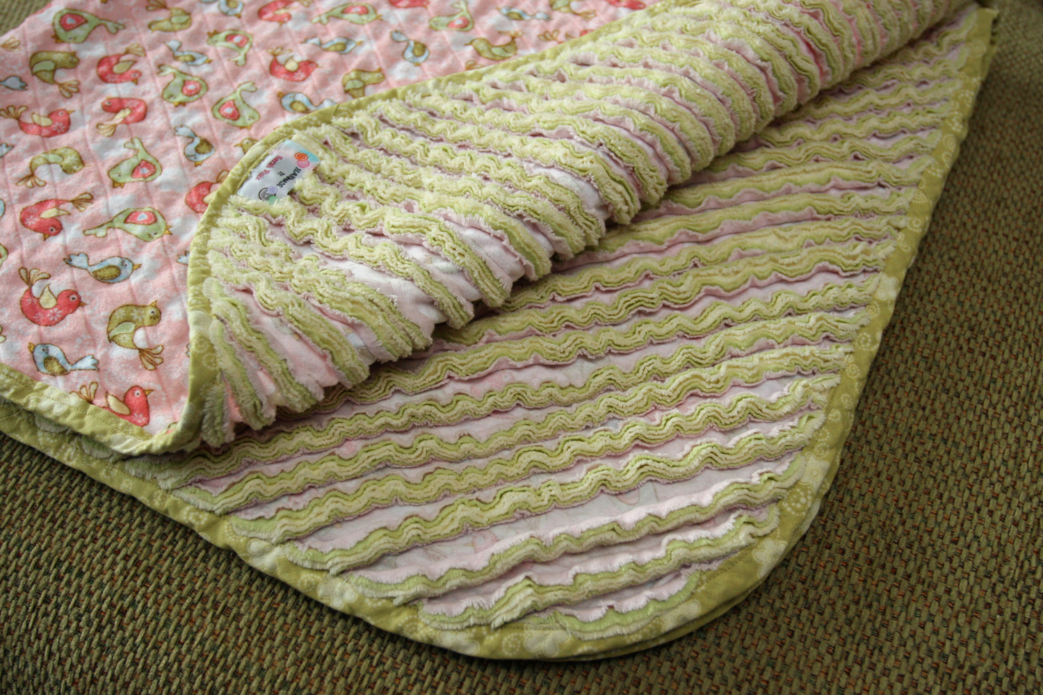 Faux Chenille Baby Blanket : chenille quilts - Adamdwight.com