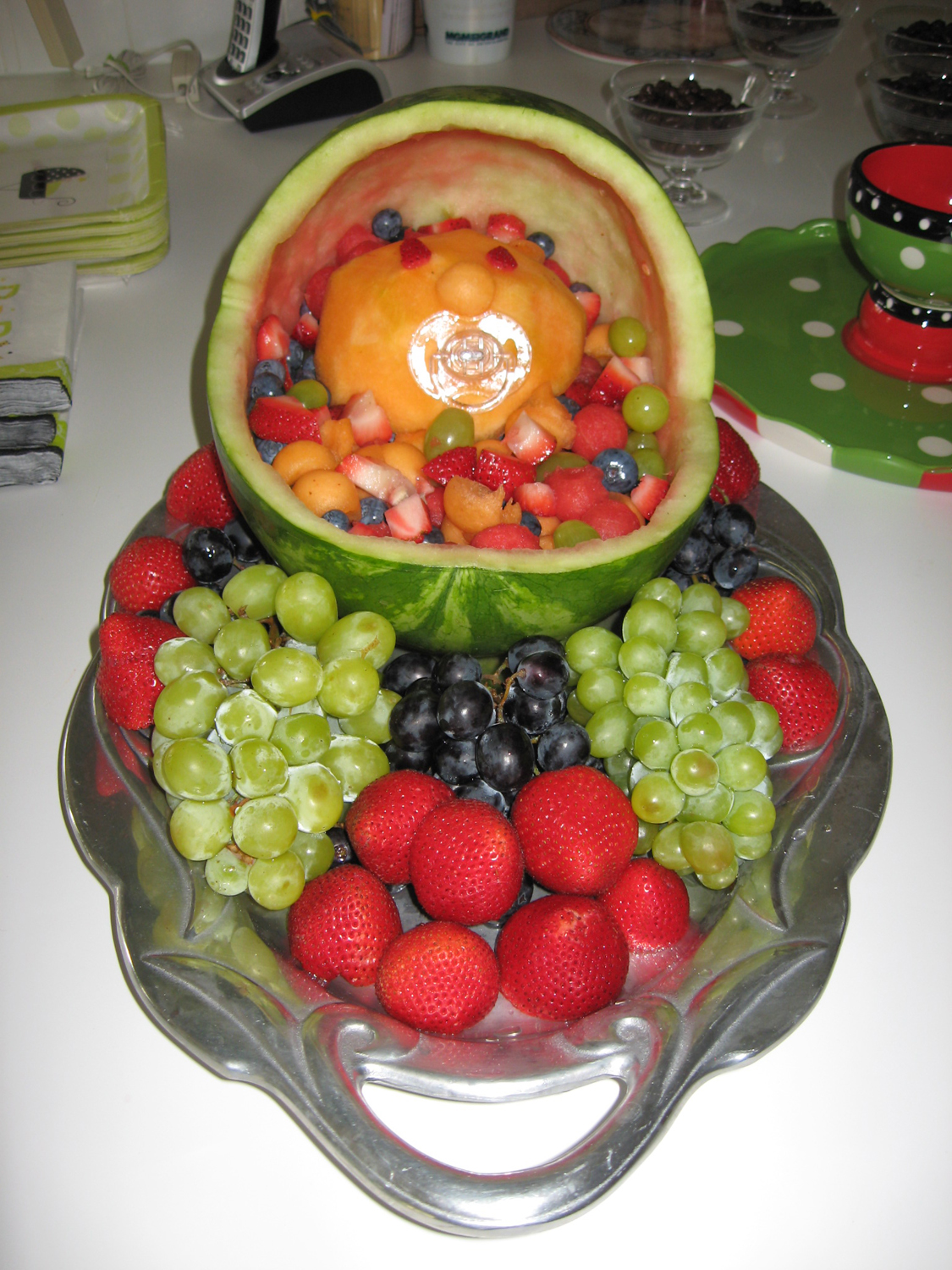 fruit salad decoration for baby shower x3cb x3ebaby shower x3c b x3e
