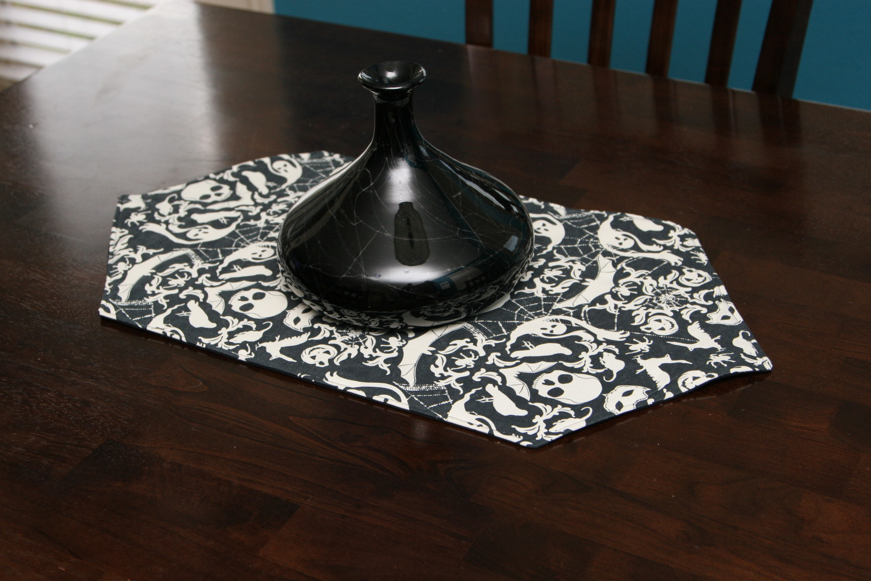 Dish Towels Turned Reversible Table Runner