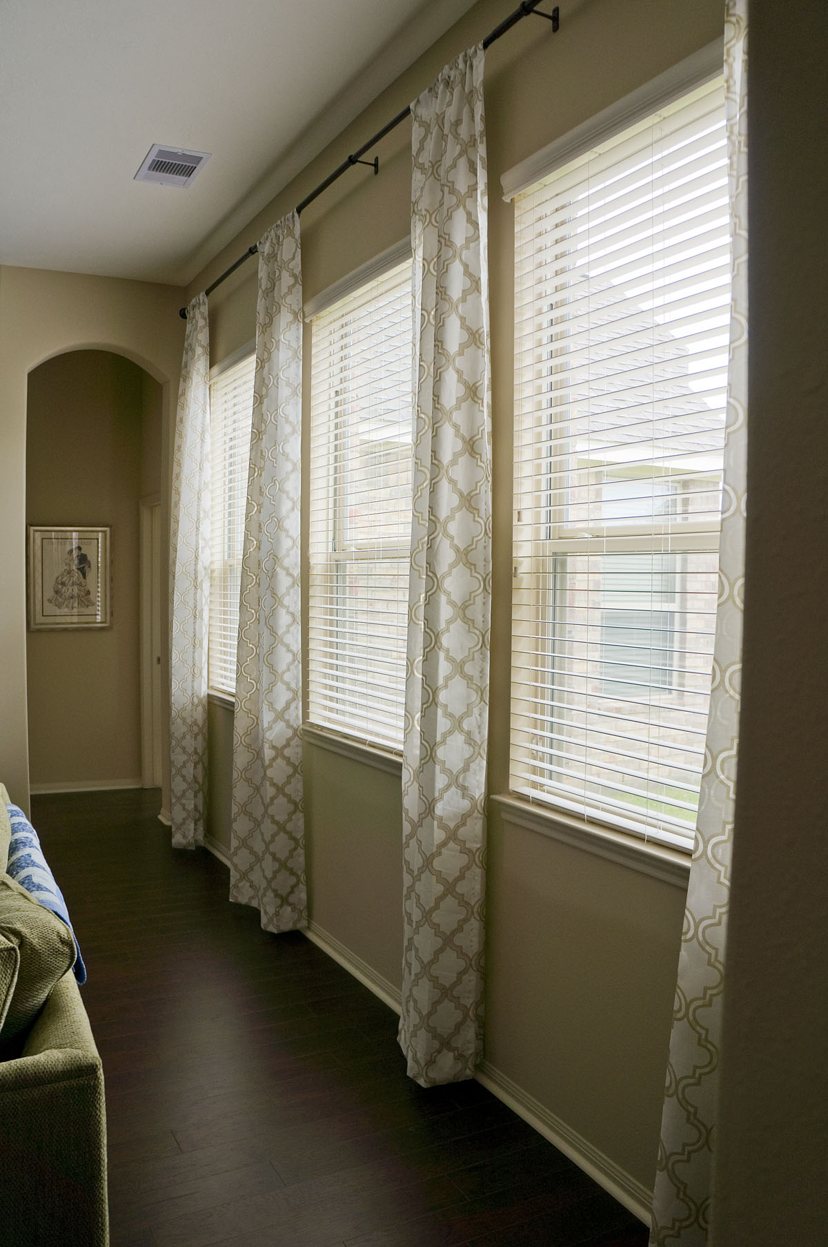 Sliding Door Window Treatments Ideas