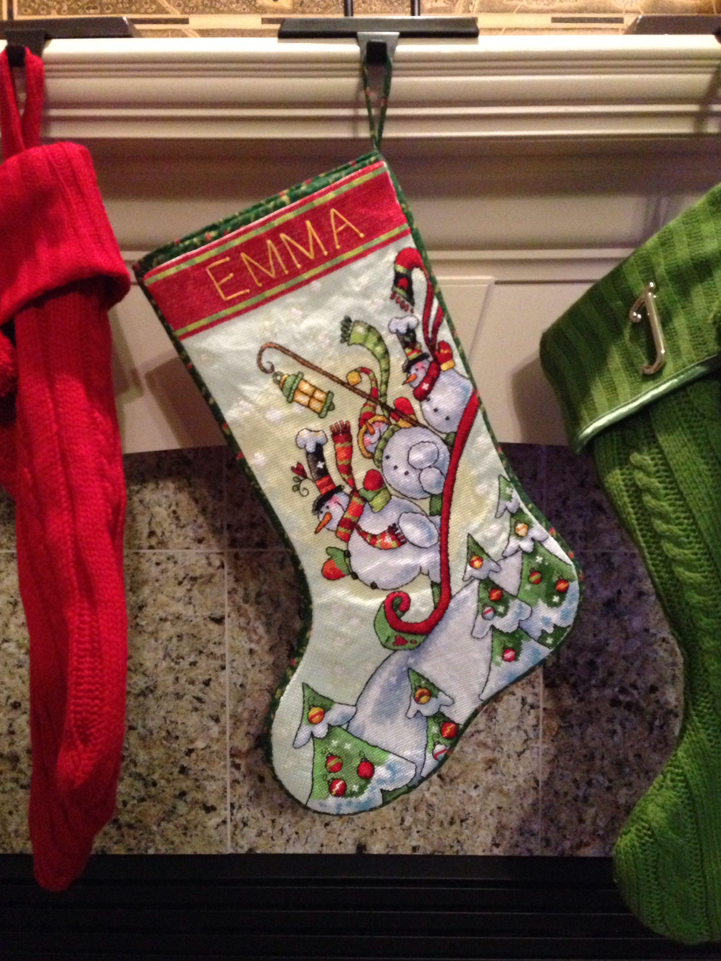 Patterns For Christmas Stockings Custom Decorating