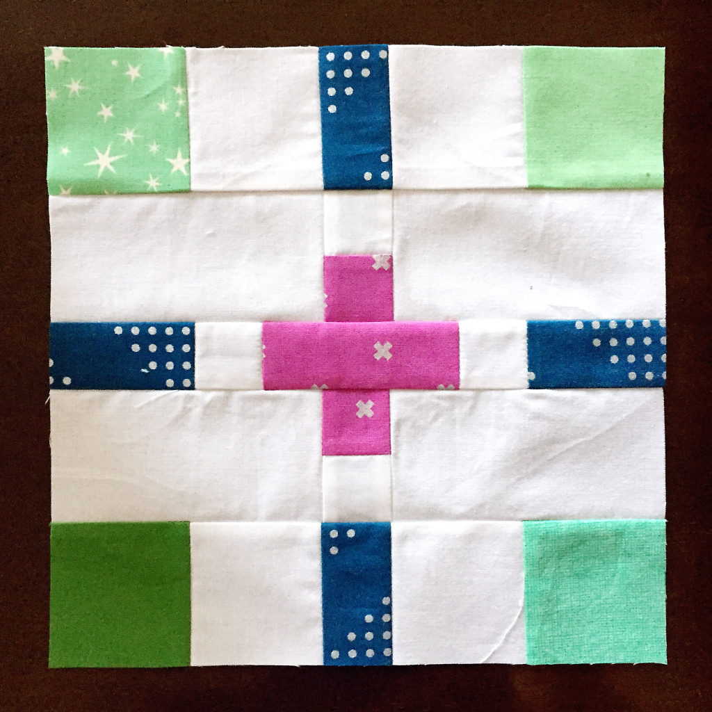 Plus or Minus Quilt Block