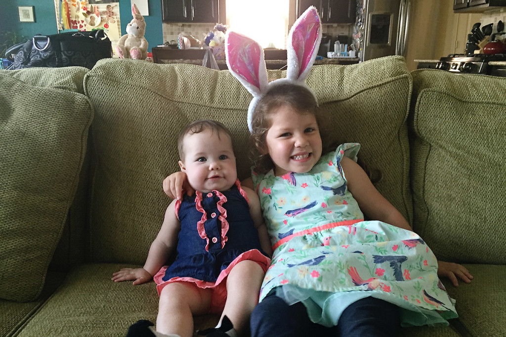 My Girls on Easter / Saroy
