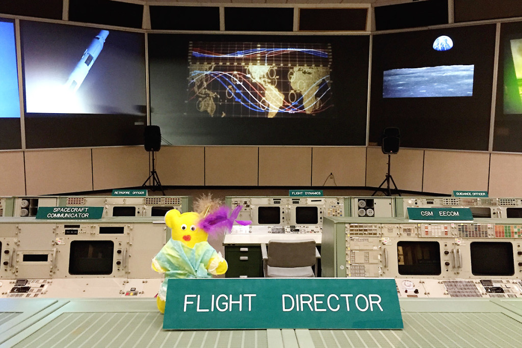 A Bear in Mission Control / saroy.net