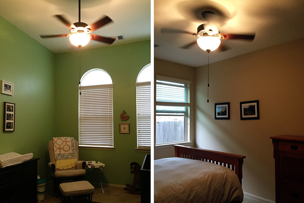 New Ceiling Fans / Saroy