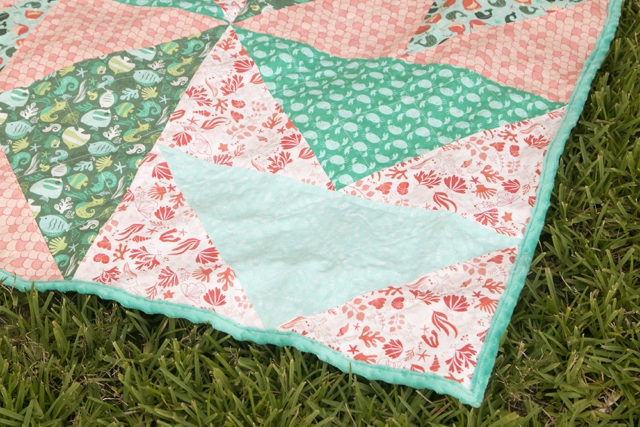 Sea Geese Quilt / saroy.net