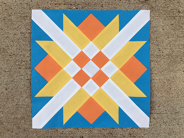 Barn Quilt Block of the Month – Railroad Crossing : railroad quilt block - Adamdwight.com